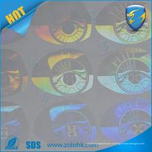 Заводская цена продажа лазерная гравюра пользовательская голограмма наклейка логотип печать голографическая наклейка пустота