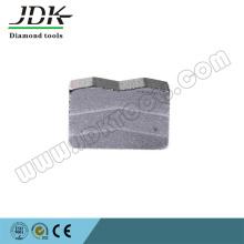 Ds-10конический многодисковый алмазный сегмент для гранита Rosa Kali Block
