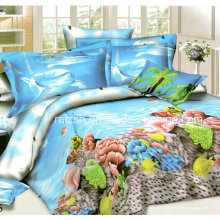 2015 Novo Design Bonito Tubarão Impresso 3D Bedding Sets China Wholesale