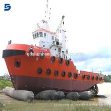 Airbag marino de goma del proveedor chino para el rescate y la elevación pesada de la nave