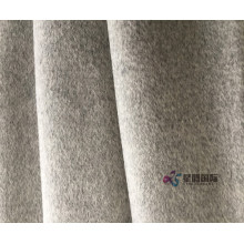 Smoky Gray 90% Wool 10% Cashmere Fabric