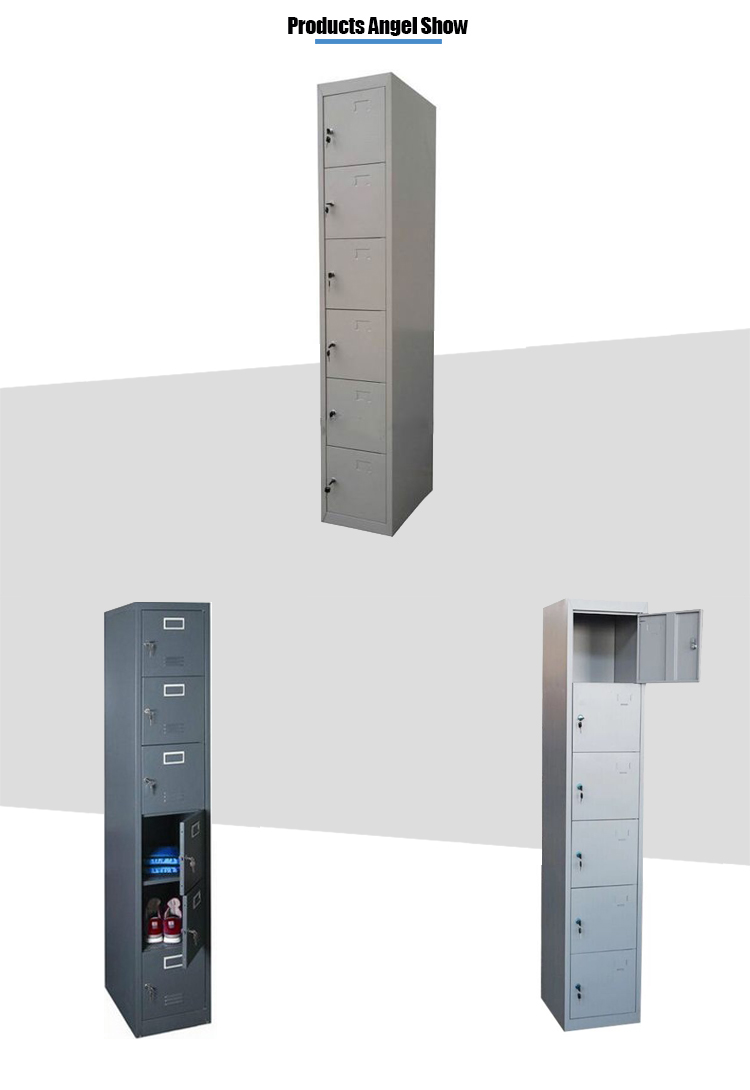 Steel 6 Door Locker