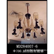 Modern Glass lamps, Cognac Color body &Hhorse Shape decorations