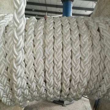 8 Strands PP Ropes Mooring Rope