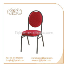 2018 silver vein metal frame stack banquet chair dining