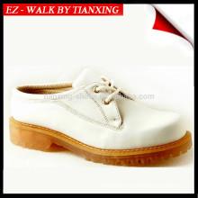 zapatos de seguridad de cuero con punta de acero