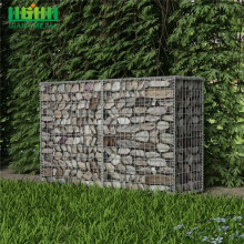 Galvanized welded garden gabion box welded stone cage