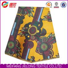 Nouveau tissu 100% polyester imprimé africain