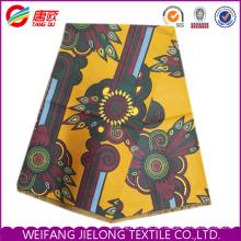 Novo design 100% poliéster tecido cera Africano impresso