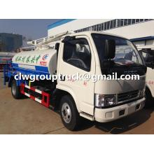 Dongfeng Water Truck dengan Fungsi Suction Sewuction