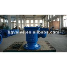 Válvula de alívio de ar único de ferro Ductil