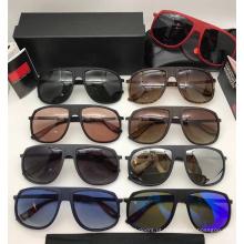 Óculos de sol UV400 polarizados do quadro do metal para homens