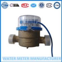 Single JetStainless Pulse watermeter tembaga badan