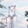 220kv Oxytropis Type Linear Power Transmission Steel Tower
