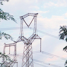 220kV Owl-Shaped Linear Power Transmission Iron Tower