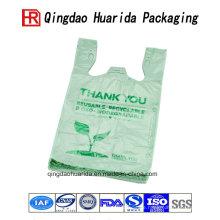 Benutzerdefinierte Logo Druck Tasche Shopping Plastiktüten Verpackung