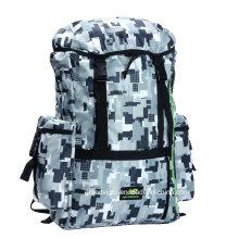 Рюкзак с капюшоном из нейлоновой муфты с нейлоновыми ремешками и ремнями