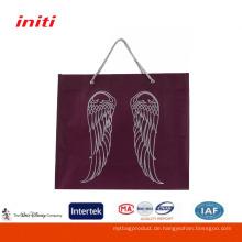 2016 Factory Sale Qualität Clear Nonwoven Tasche für Shopping
