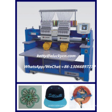 1200SPM high speed 15 colors 2 heads computerized embroidery machine price