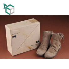 Wholesale Custom Kraft Paper Luxury Shoes Packaging Cardboard Box For Women Boots