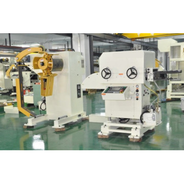 Servo feeder straightener cum Decoiler