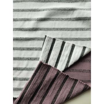 Cotton Poly Stripe Terry