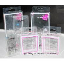 Impresión UV Caja de regalo transparente de los PP para los cosméticos (caja del PVC)