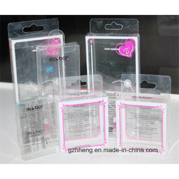 UV Printing Clear PP Gift Box for Cosmetics (PVC box)