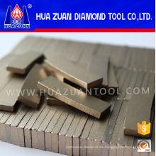 Marmor Diamant Segment für Brücke Sägeblatt 400mm