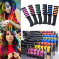 Hair Chalk Comb Shimmer Temporary ครีมทาผม