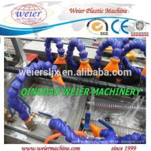 одношнековый экструдер машина для PE PP спиральная упаковка трубка