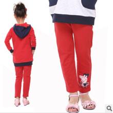 Cartoon Pencil Pants Embroidery Cotton Wholesale Children's Wear Pants