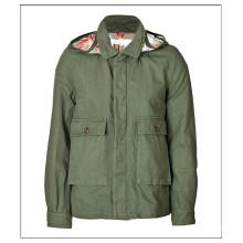 Завод оптовая продажа короткие холстины хлопка куртка мужчин
