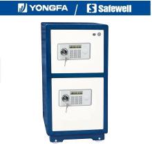 Yongfa 73cm altura panel Blc seguro de robo para el Banco