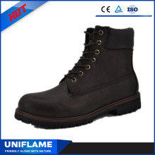 Lace Amereica PU Leather Good Year Safety Shoes Ufc012