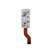4 LED button FPC membrane switch medical equipment