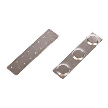 Name logo custom magnetic name tags name badges with neodymium magnet