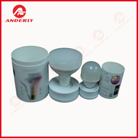 Light Bulb Paper Packaging Tube With EVA