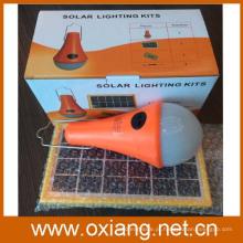 kit de iluminação solar de alta qualidade 3w / iluminação solar / iluminação de energia solar