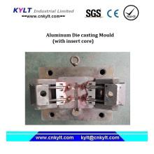 Molde de injeção de núcleo de inserção de alumínio