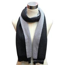 Леди мода хлопок нейлон вязаный шарф в договоре Цвет (YKY4321)