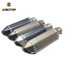 SCL-2015110042 ATV Ak Exhaust Muffler Pipe Motorcycle Exhaust Muffler Stainless Steel Motorcycle Exhaust Muffler