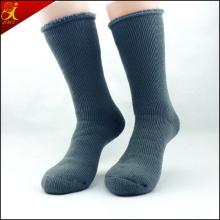 Qualité élite nervuré laine chaussettes pour hommes