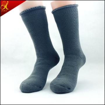 Calidad Elite Ribbed calcetines de lana para hombres