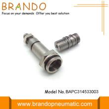 3 / 2NC Armadura da válvula solenóide Haste solenóide pneumática