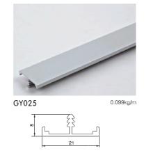 Perfil de borda de alumínio para armário de cozinha