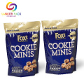 FDA Godkänd Laminat Quad Seal Cookie Packaging