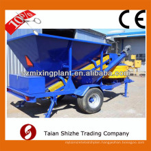 New products 10-30m3/h mobile concrete batching station