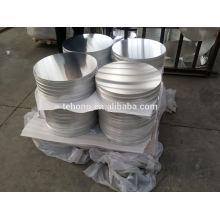 1100 O Alloy Coated Aluminium Products Round Aluminum Plate Deep Drawing