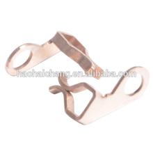 Shrapnel d'agrafe de cuivre de la bande 1.2mm de précision d'anneau de précision